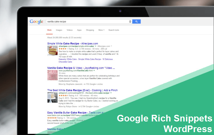 Google Rich Snippets WordPress